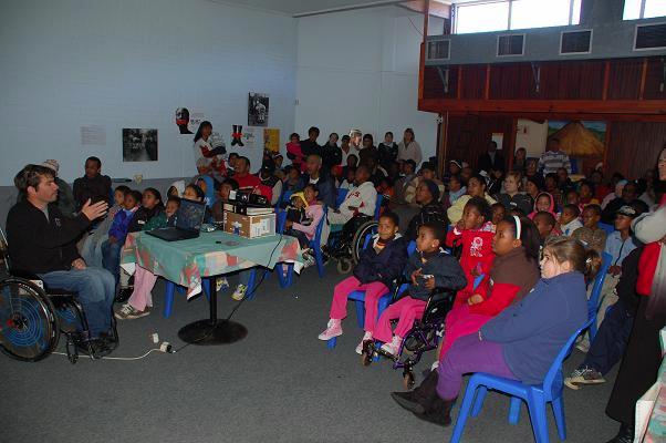 Intervention centre enfants handicapés