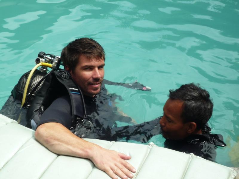 Plongée pour les paraplégiques