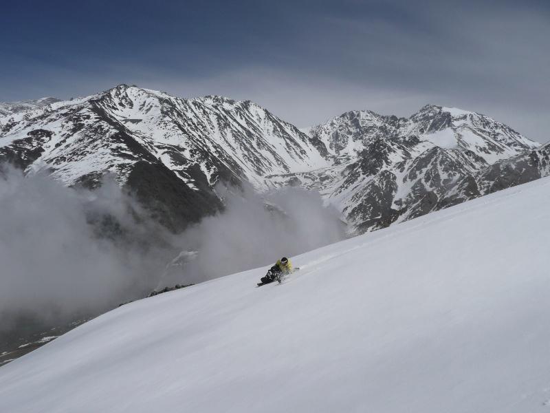 Descente handiski Cerro Arelales