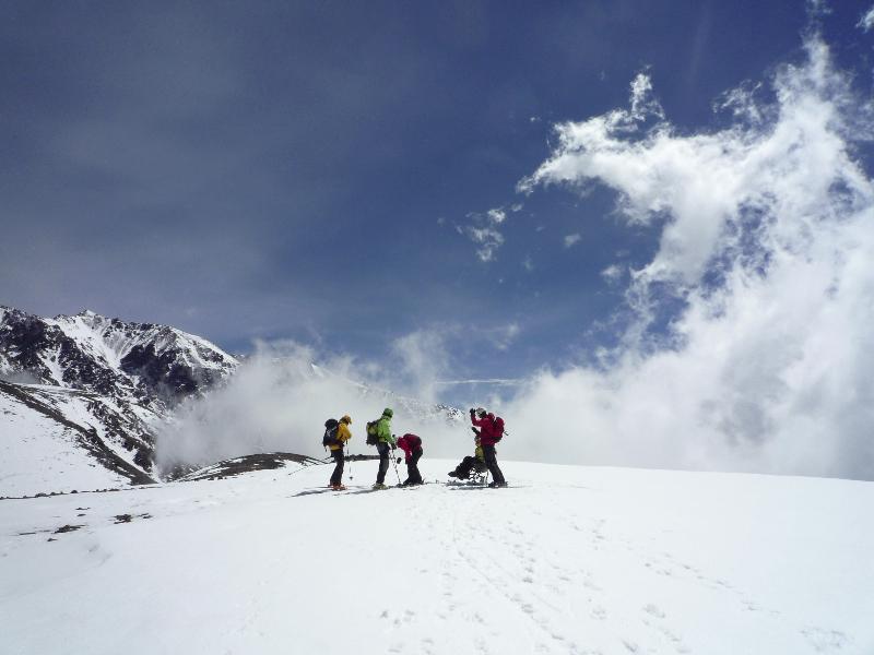 Sommet handiski Cerro Arenales