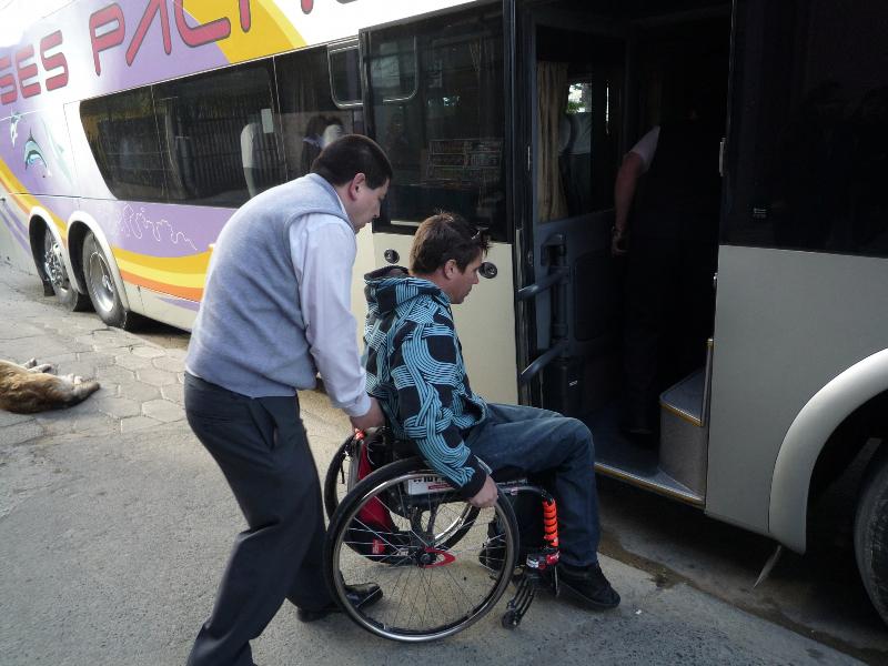 Aide montée du bus