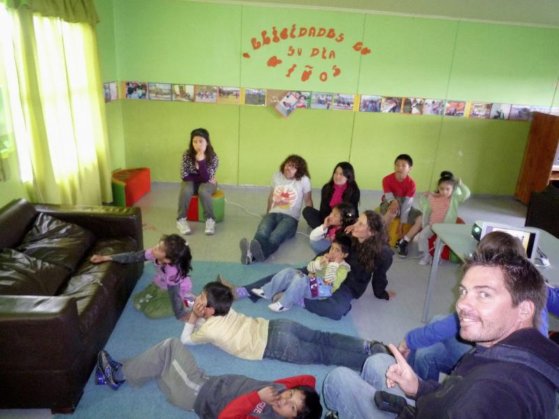 handicap dans un foyer d'enfants