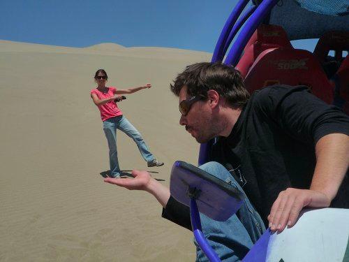 Buggy au désert de Nasca