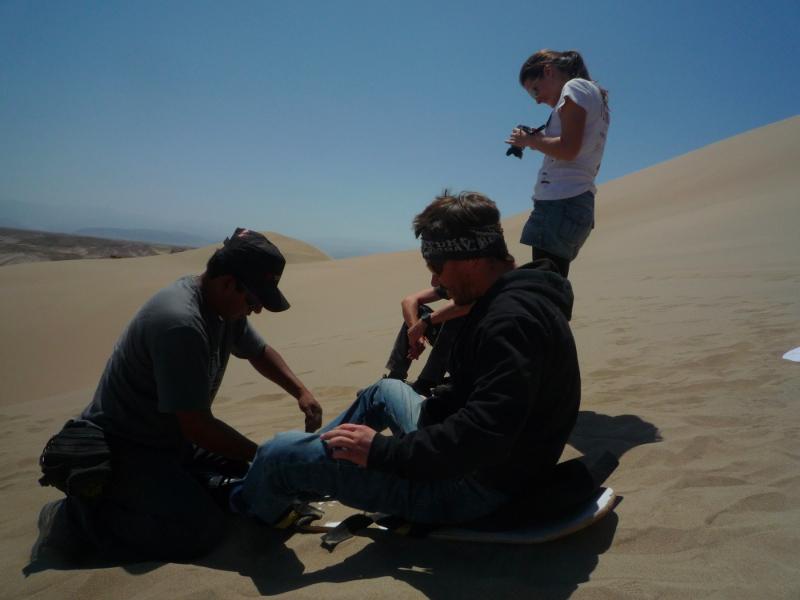 Surf aux dunes de Nasca