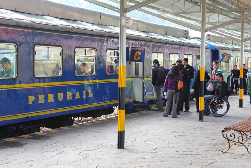 Train du Machu-Picchu