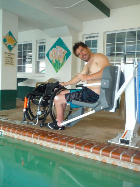 Transfère piscine