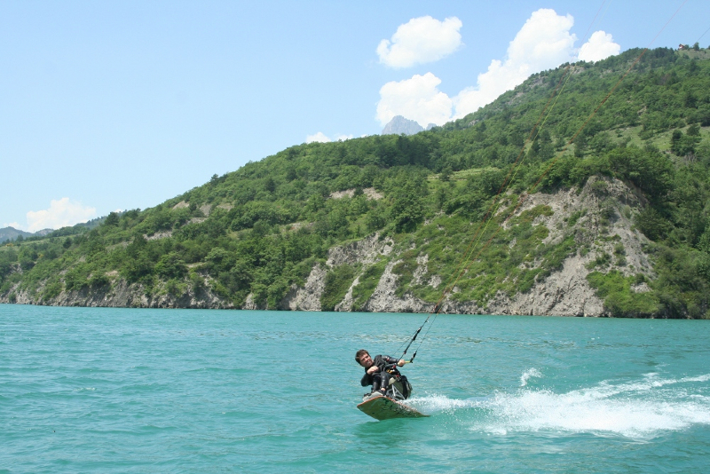Handikite Bastos Savine le lac