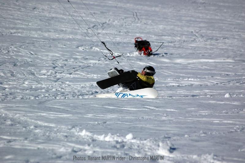 Test handi-snowkite Bastos