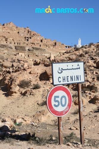 tunisie-village troglodytique-berbérophone