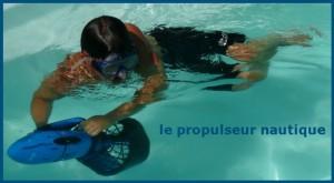 Propulseur nautique - déplacement handicap