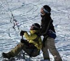 Handi-snowkite nouvelle discipline handisport