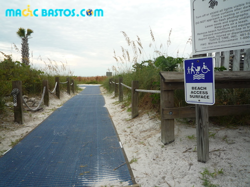 floride-beach-acces-fauteuil-roulant