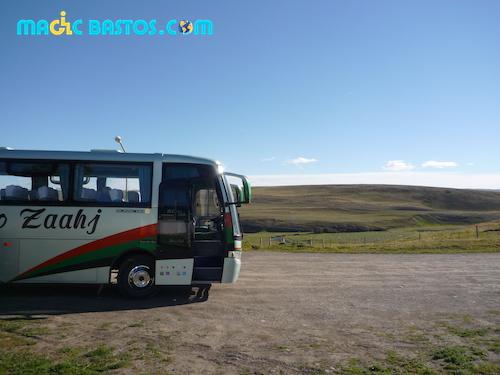 bus-perrito-moreno-elcalafate-argentine