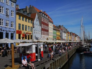 handicap, enfants, wakeboard Danemark -nyhavn
