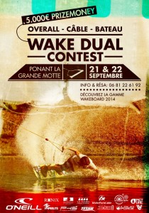 affiche-wake-dual-contest Compétition wakeboard