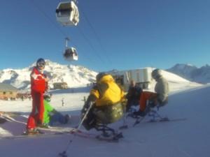VFC Tessier matériel de ski assis