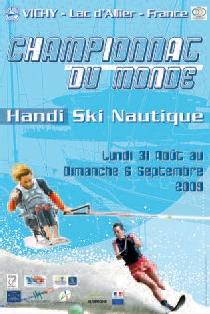 affiche cdm ski nautique