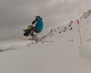 handi-ski - freestyle - snowpark