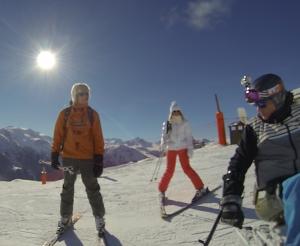 Eric Rouma - Accident ski - la Plagne