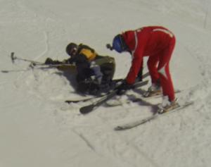 Réglage fixations ski - handiski