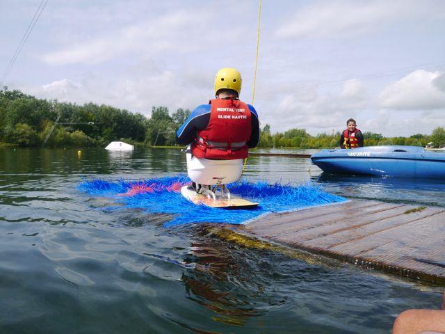 Handi-wakeboard assis Verberie Oise » MagicBastos