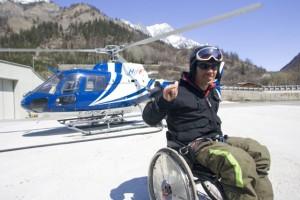 hélico-handicap-ski