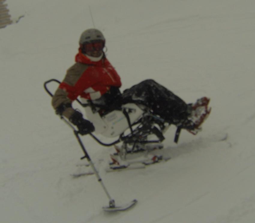 ski assis pour valide