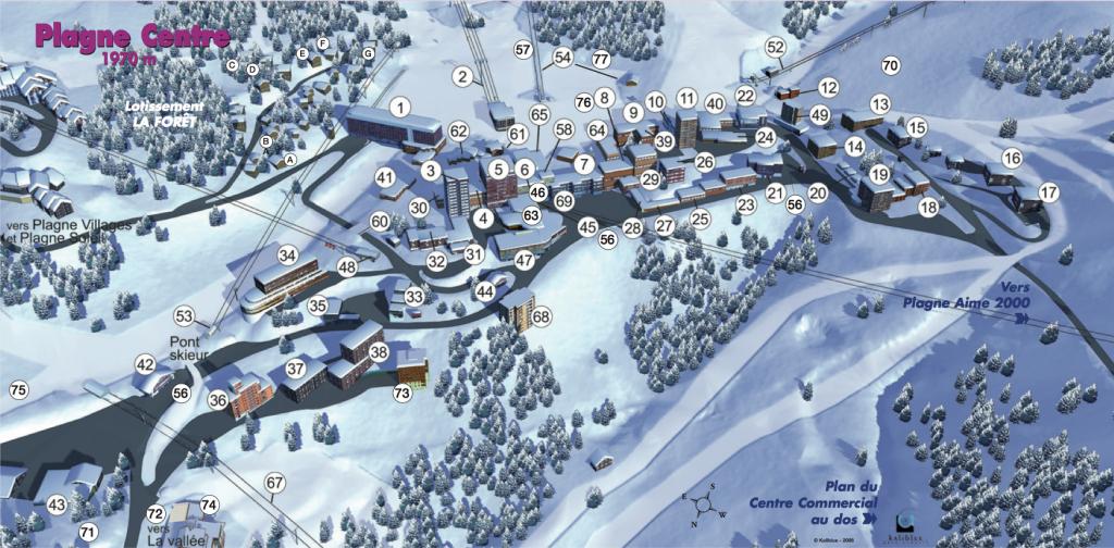 plan-résidence-laPlagne