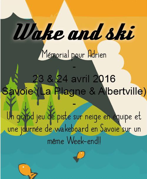 Vignette Wake and ski 2016