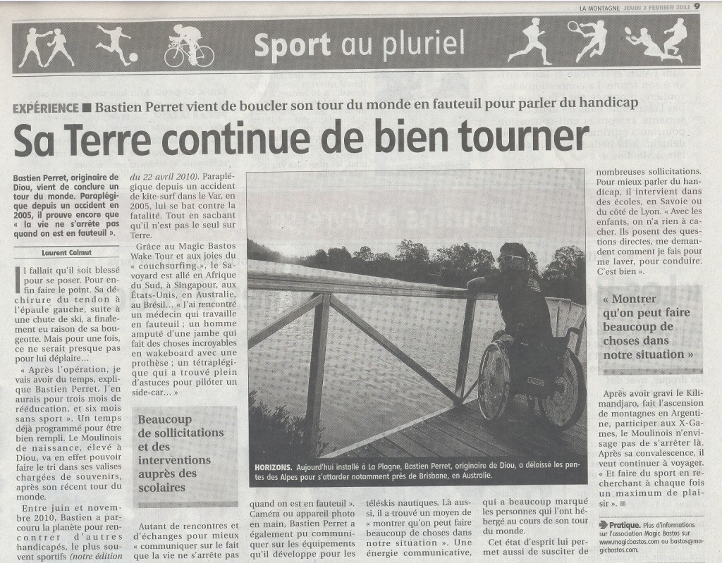 La-Montagne voyage sport & handicap