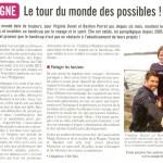 Tarentaise Hebdo tour du monde handicap