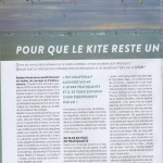 Sauvetage magazine accident kitesurf