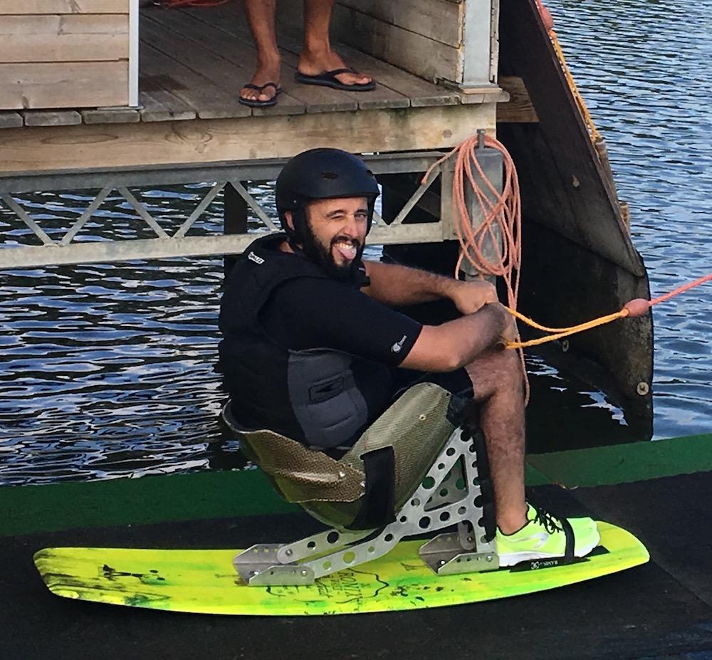 Damien A - paraplégique D7 - wakeboard