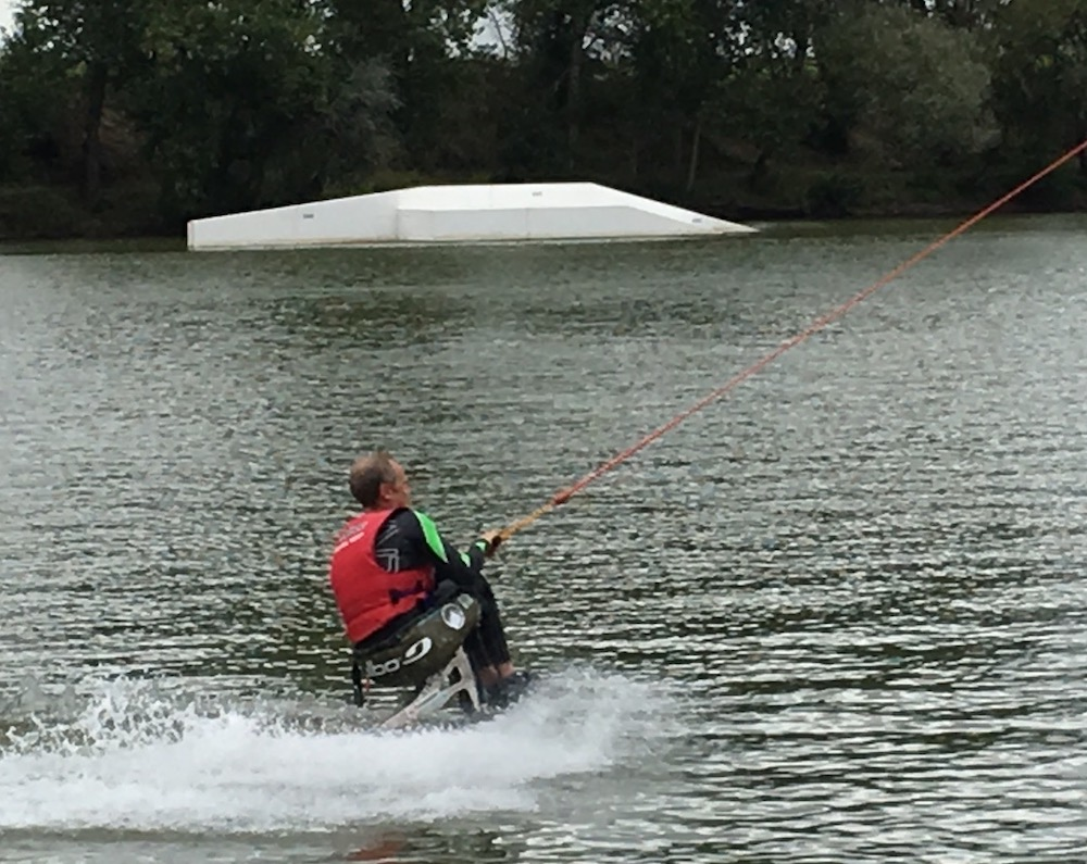 Ian Attfield handiwake paraplégique