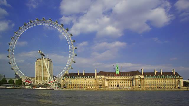london eye-roue paysage