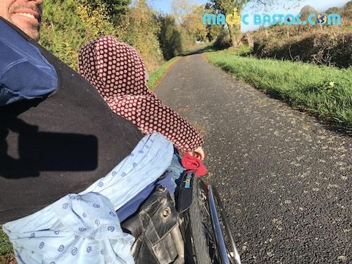Porte bébé fauteuil roulant