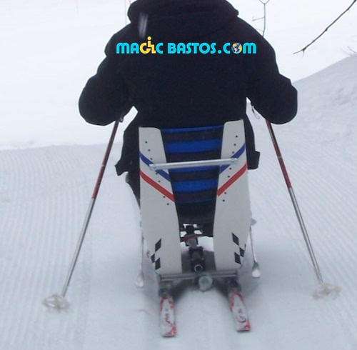 Luge de ski de fond / sitski de fond